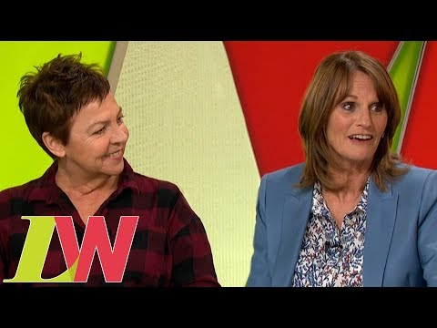Only Fools and Horses Stars Gwyneth Strong and Tessa Peake-Jones Reunite | Loose Women