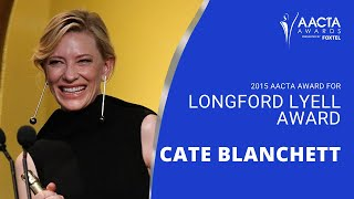Download Cate Blanchett receives the AACTA Longford Lyell Award - Full Version Mp3 and Videos