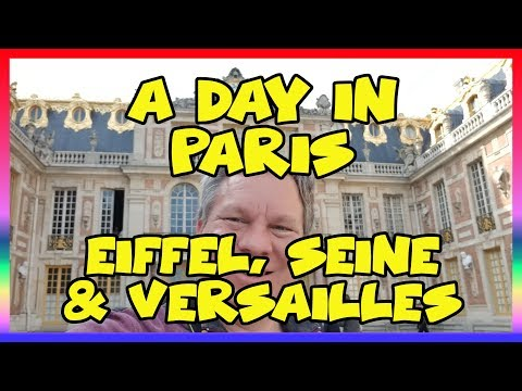 A Day in Paris- Eiffel, Seine, and Versailles - Sir Willow's Park Tales ep 48