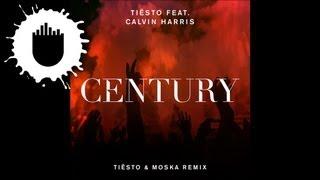 Tie?sto feat. Calvin Harris - Century (Tie?sto & Moska Remix) (Cover Art)
