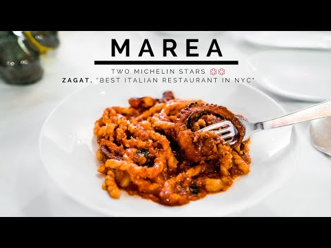 "Eating At Marea NYC | Two Michelin Stars, ""Best Italian Restaurant In NYC"""