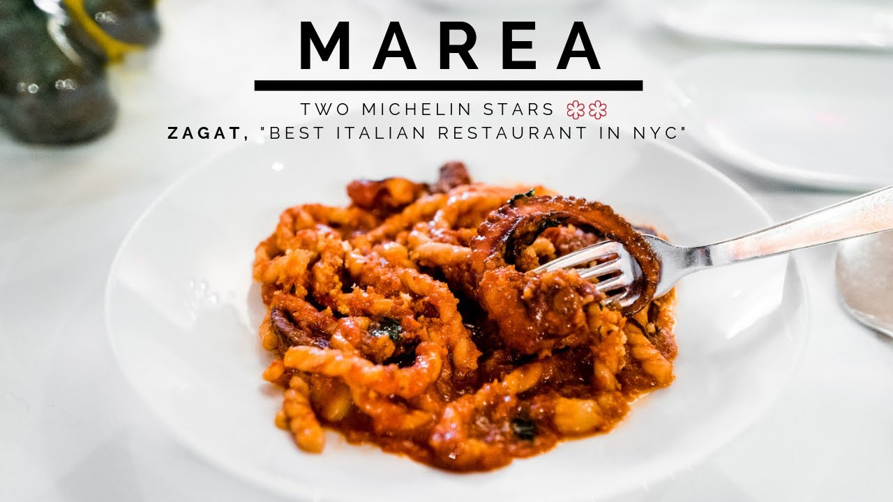 """Eating at Marea NYC 