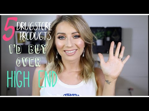 5 DRUGSTORE PRODUCTS THAT ARE BETTER THAN HIGHEND