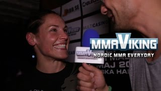 Lina Akhtar Superior Challenge Post Fight Interview