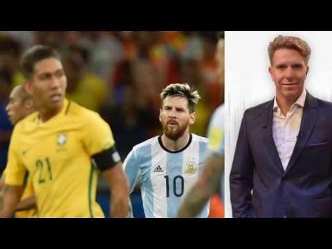 """Fantino duro post derrota con Brasil - """"Basta del chistoso de Lavezzi"""" """"Bauza no sos vos"""" - 11/11/16"""