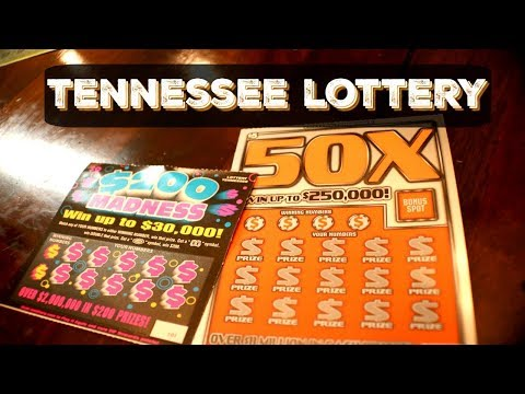 50x Giant Jumbo Bucks And 200 Madness Tennessee Lottery