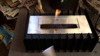 Ignis Ventless Bio Ethanol Fireplace Review, Very nice and good retrofit for antique fireplace