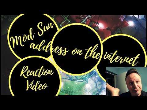 Mod Sun - address on the internet (OFFICIAL VIDEO)(Reaction)