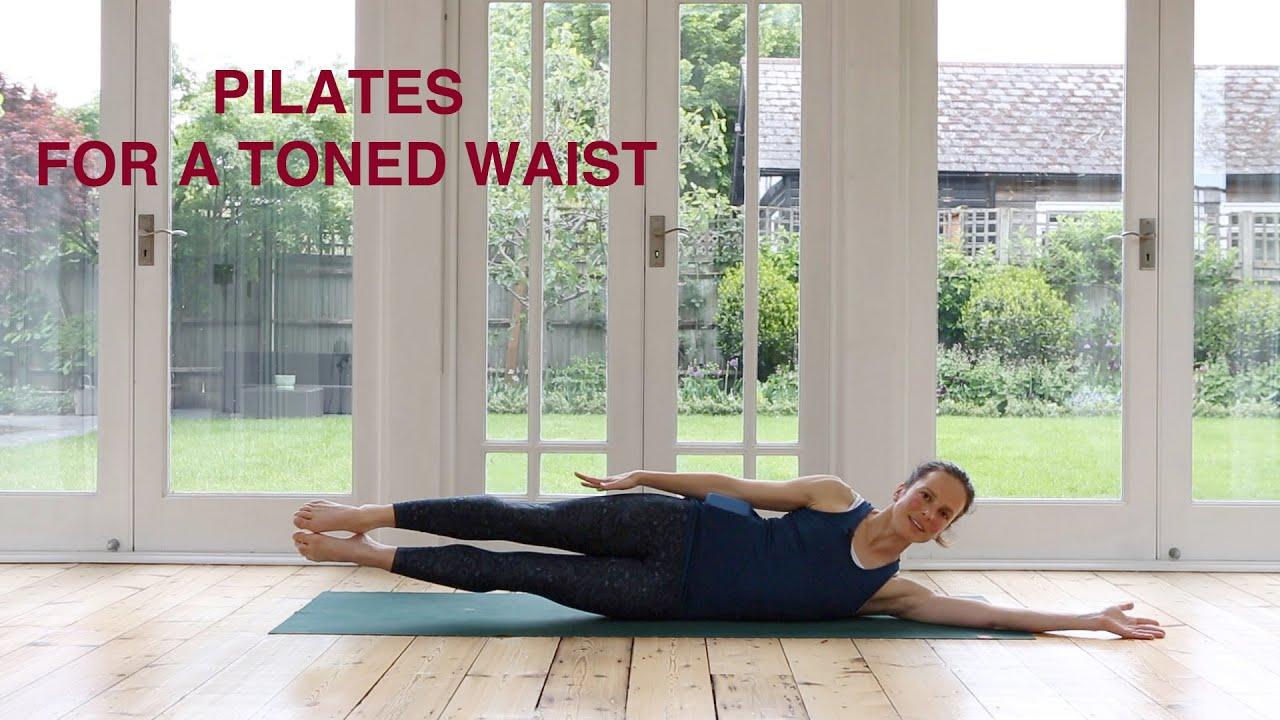Pilates For A Toned Waist 25 mins