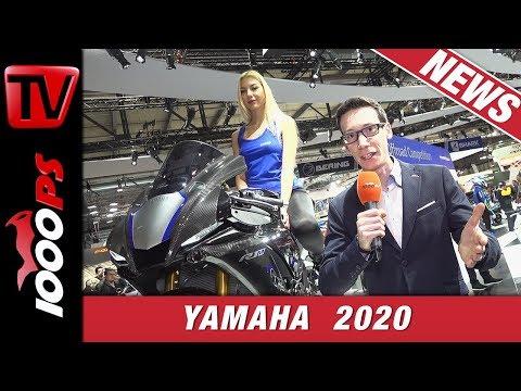 Yamaha Neuheiten 2020 // EICMA 2019 // Rennsport, Touring, Roller und Neues auf der dunklen Seite
