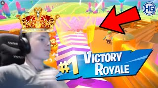Fall Guys #3 | High Ground sitt FØRSTE WIN i Fall Guys!👑😱🥳💯🥶🤯