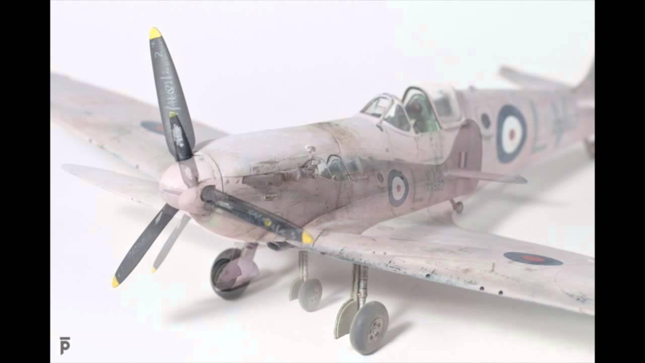 Airfix Spitfire   Build