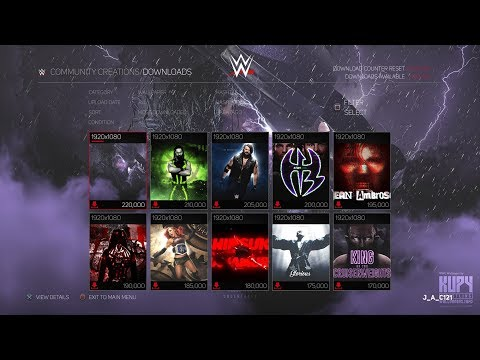 WWE 2K18 Concept: Download A Wallpaper