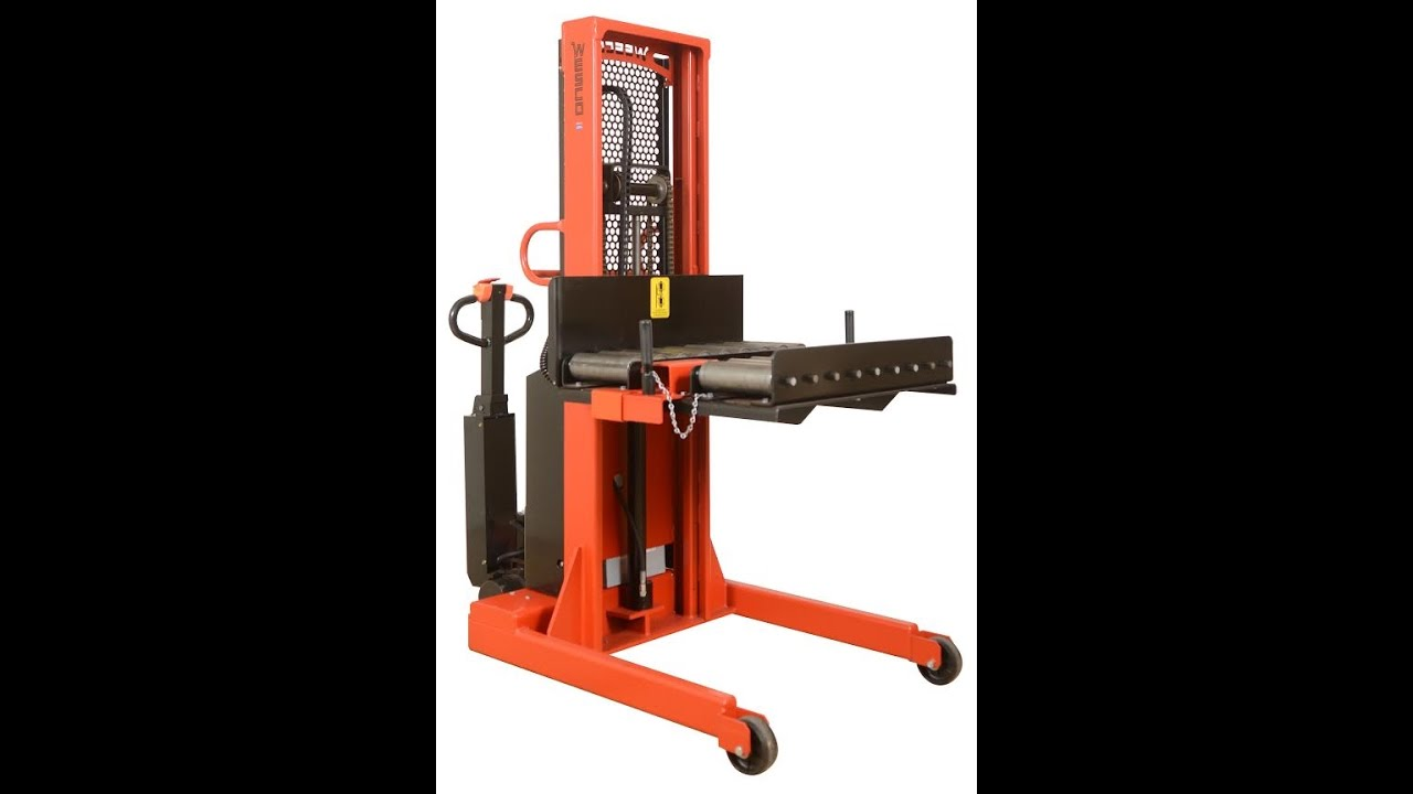 Electric Platform Stacker For Amp Molds With Push Pull