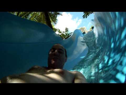 Guam Pacific Islands Club Water Slide