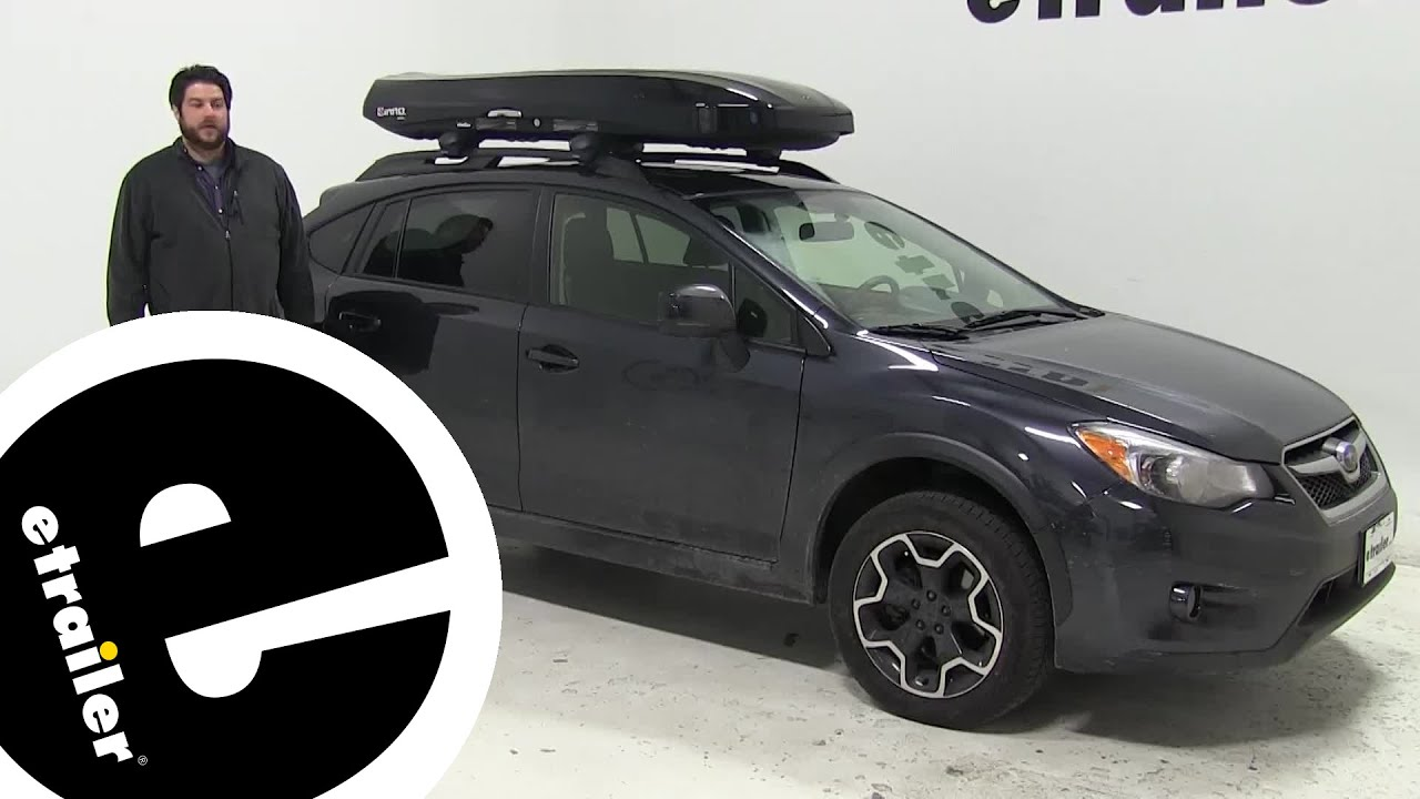 Review Inno Roof Cargo Carrier 2017 Subaru Xv Crosstrek Inbrm660bk E
