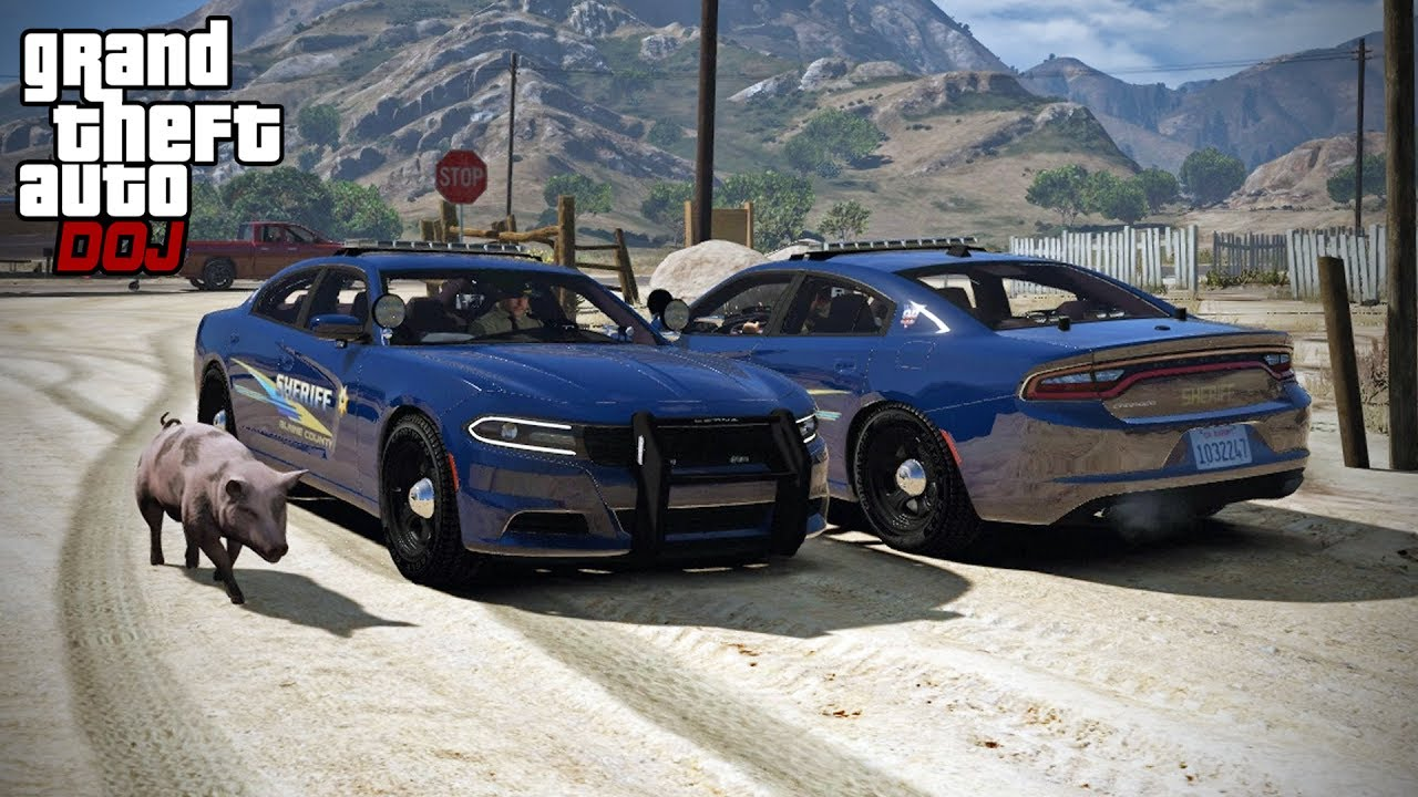 GTA 5 Roleplay - DOJ 167 - Assault Investigation (Law Enforcement)
