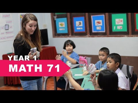 Year 1 Math, Lesson 71, Reading a Ruler Centimeters