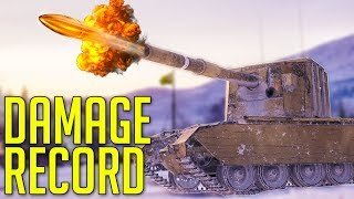 ► Highest Damage Record in World of Tanks: FV4005 Stage II Gameplay