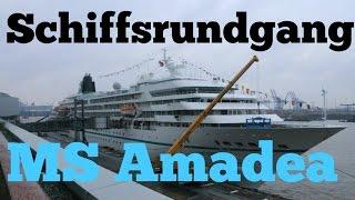 Schiffsrundgang - MS Amadea - ZDF TRAUMSCHIFF