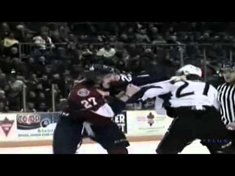 Ryan Graves vs Oliver Cooper Jan 5, 2013