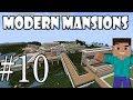 Minecraft - Как да си направим модерно Имение | епизод 10 |
