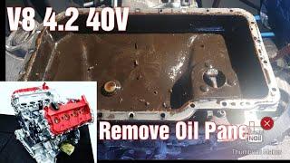 Ölwanne ausbauen Oil Pan remove Audi V8 4.2 40 V