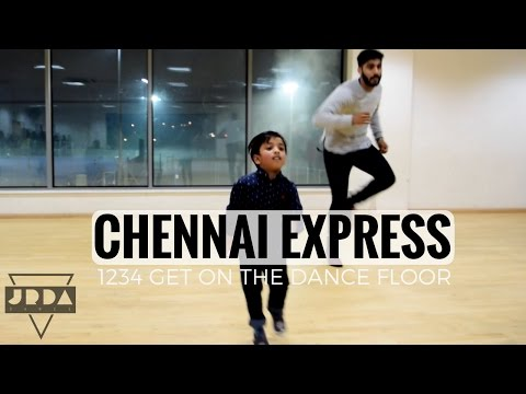 1234 Get On The Dance Floor  Chennai Express  DANCE  Shahrukh Khan  Priyamani  @JeyaRaveendran