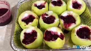 СУПЕР перекус для стройняшек, ПП лепешки/ запечённые яблоки с вареньем