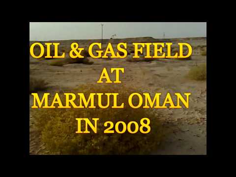 OIL & GAS PRODUCTION AREA AT MARMUL OMAN IN 2008