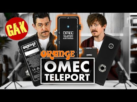 OMEC Teleport (Orange) | 1 Pedal, Any Sound!