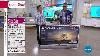 "LG SM8100 55"" NanoCell 4K UHD Smart TV w/Voice Control, ..."