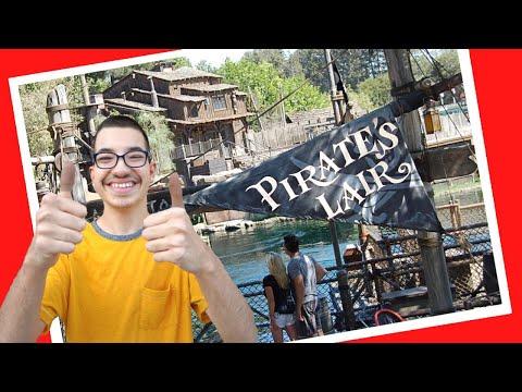 Pirates Lair on Tom Sawyer's Island Disneyland