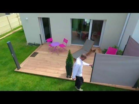 Remarquable Rideaux de terrasse rétractables - YouTube MB-85