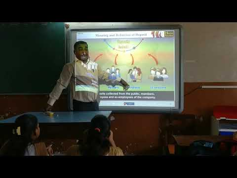Lecture on Public Deposits