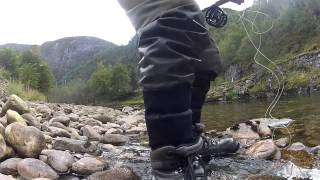 Speycasting For Salmon In Norway 2014, Dale, Hordaland