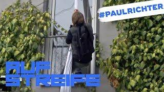 Einbruch oder Ausbruch: Warum klettert er an der Wand? | #PaulRichterTag | Auf Streife | SAT.1 TV