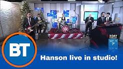 Hanson perform 'Finally it's Christmas'