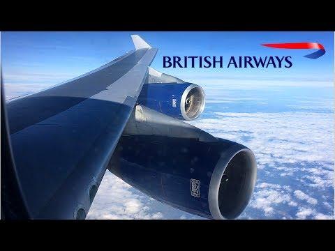 British Airways | 747-400 | Phoenix, AZ (Sky Harbor) ✈ London Heathrow | World Traveller |