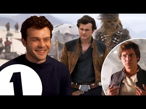 I wear Han Solo's jacket constantly! Star Wars newcomer Alde