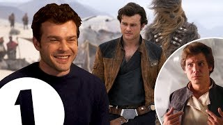 """I wear Han Solo's jacket constantly!"" Star Wars newcomer Alden Ehrenreich on landing the epic role."