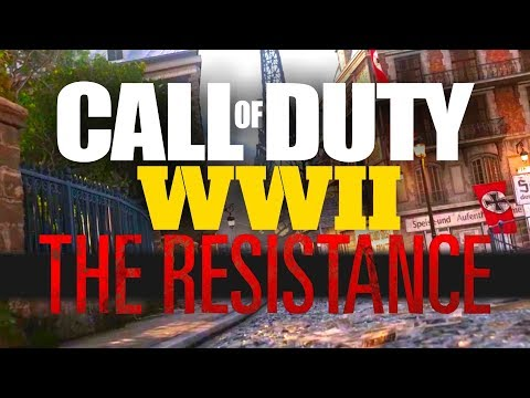 COD WWII RESISTANCE DLC GAMEPLAY! 3 New MP Maps, 1 War Map, 1 Zombies Map! (DLC1 Preview)