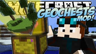 Minecraft | GEOCHESTS MOD! (World Eating Chests!) | Mod Showcase