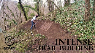 How To Build a Freeride Bike Trail | Intense MTB Trail Building #01