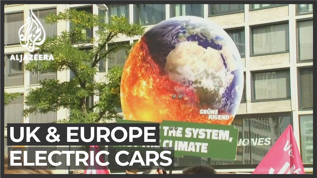 UK and Europe drive towards net-zero emissions