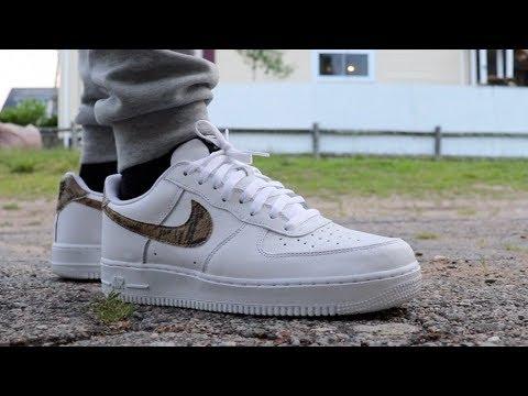 On Feet - Nike Air Force 1 Low Retro QS