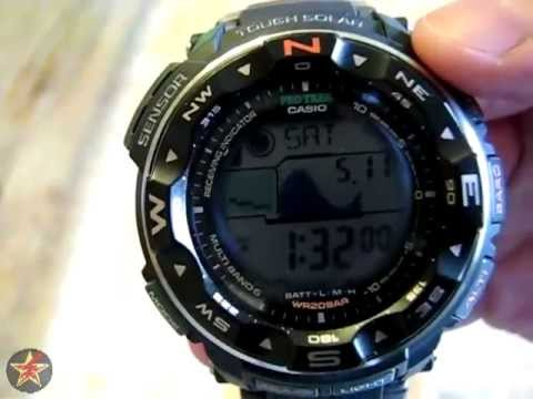 Casio Protrek/Pathfinder PRW 2500-1 In Depth Review