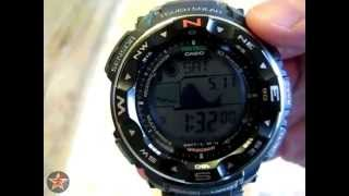 Casio Protrek/Pathfinder PRW 2500-1 In Depth Review