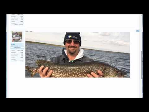 Image Upload, Canadian Fishing Forum