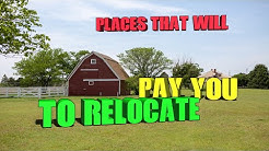 10 Places that will pay you to relocate. Free Money!!